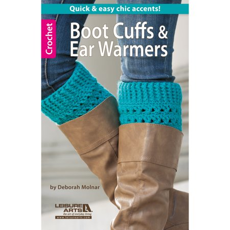 Leisure Arts, Boot Cuffs and Ear Warmers
