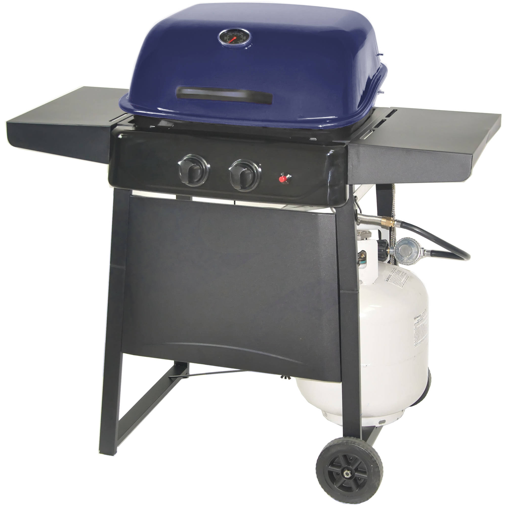 RevoAce 2-Burner LP Gas Grill, Deep Cobalt Blue