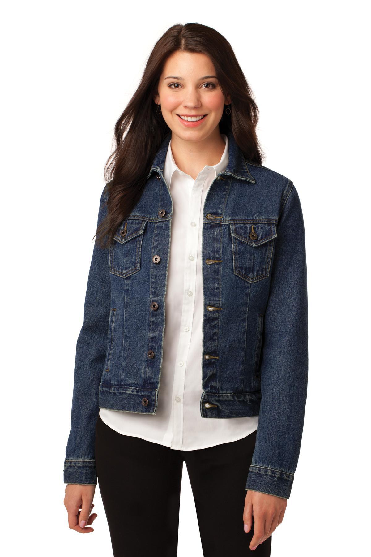 Port Authority Ladies Denim Jacket