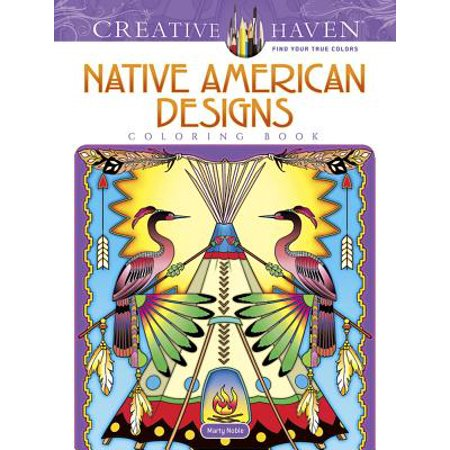 Creative Haven Native American Designs Coloring - Native American Medicine