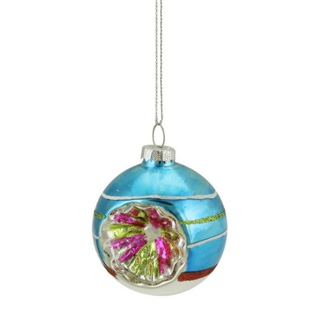 Northlight Seasonal Glittered Witches Eye Glass Ball Ornament