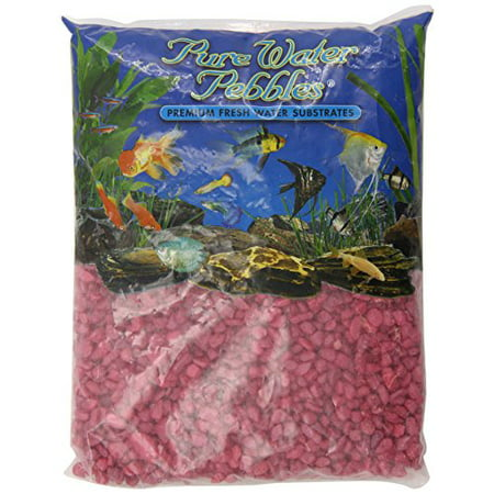 - Pure Water Pebbles Aquarium Gravel 5-Pound Red Frost (Pack of 1)