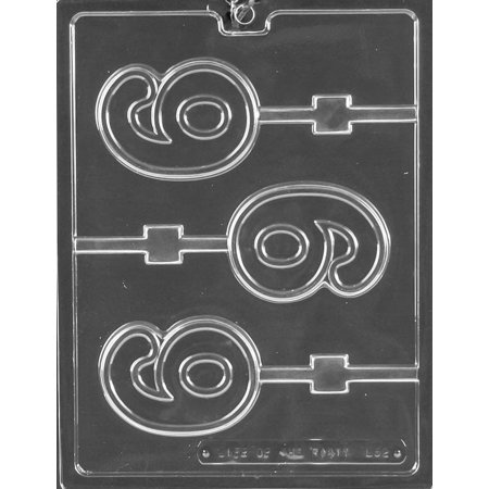 Number 6 Six #6 Lollipop Sucker Chocolate Mold Candy Soap Mould Birthday Wedding Party Favor m223](Lollipop Birthday Decorations)