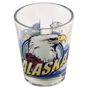 "Ddi Alaska Shot Glass 2.25h X 2"" W 3 View (pack Of 96) by DDI"