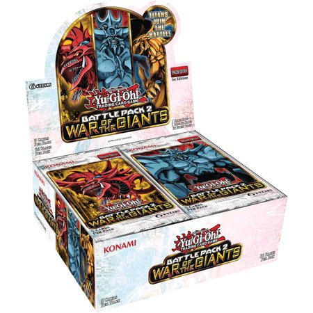 Giants Booster Pack - YuGiOh Battle Pack 2: War of the Giants Booster Box