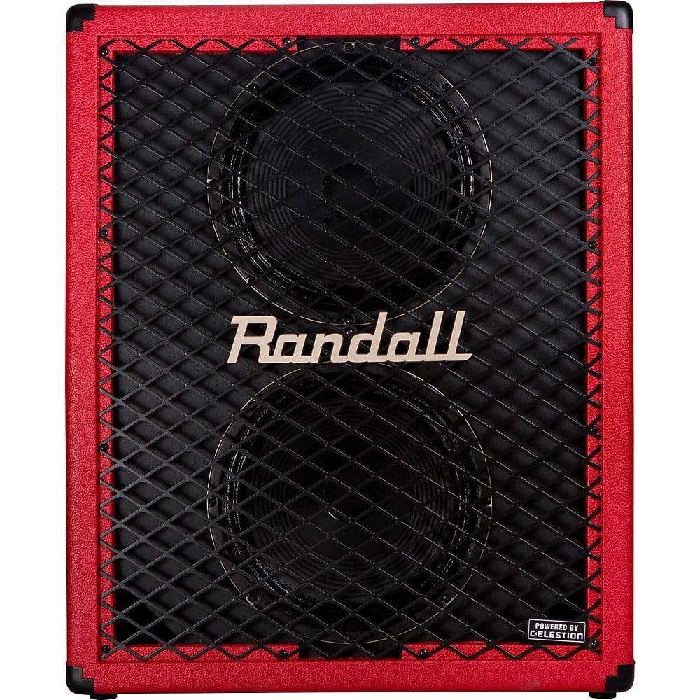 Randall RD212-UV 2x12 Upright Guitar Speaker Cabinet Red