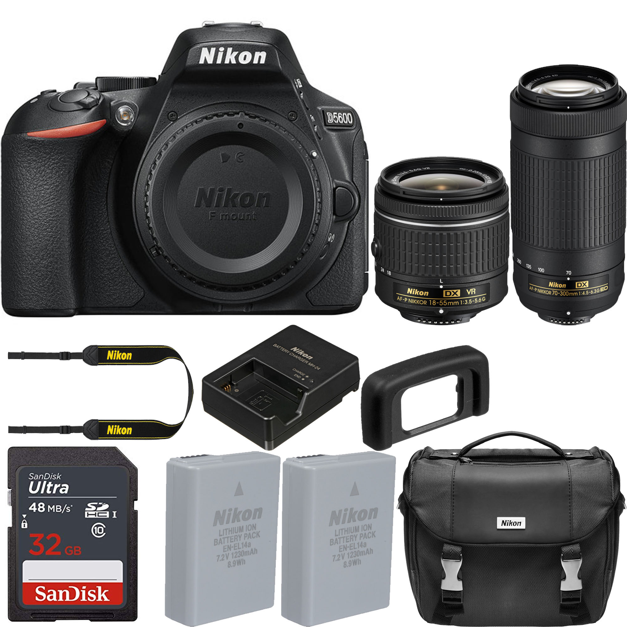 Nikon D5600 bundle deals