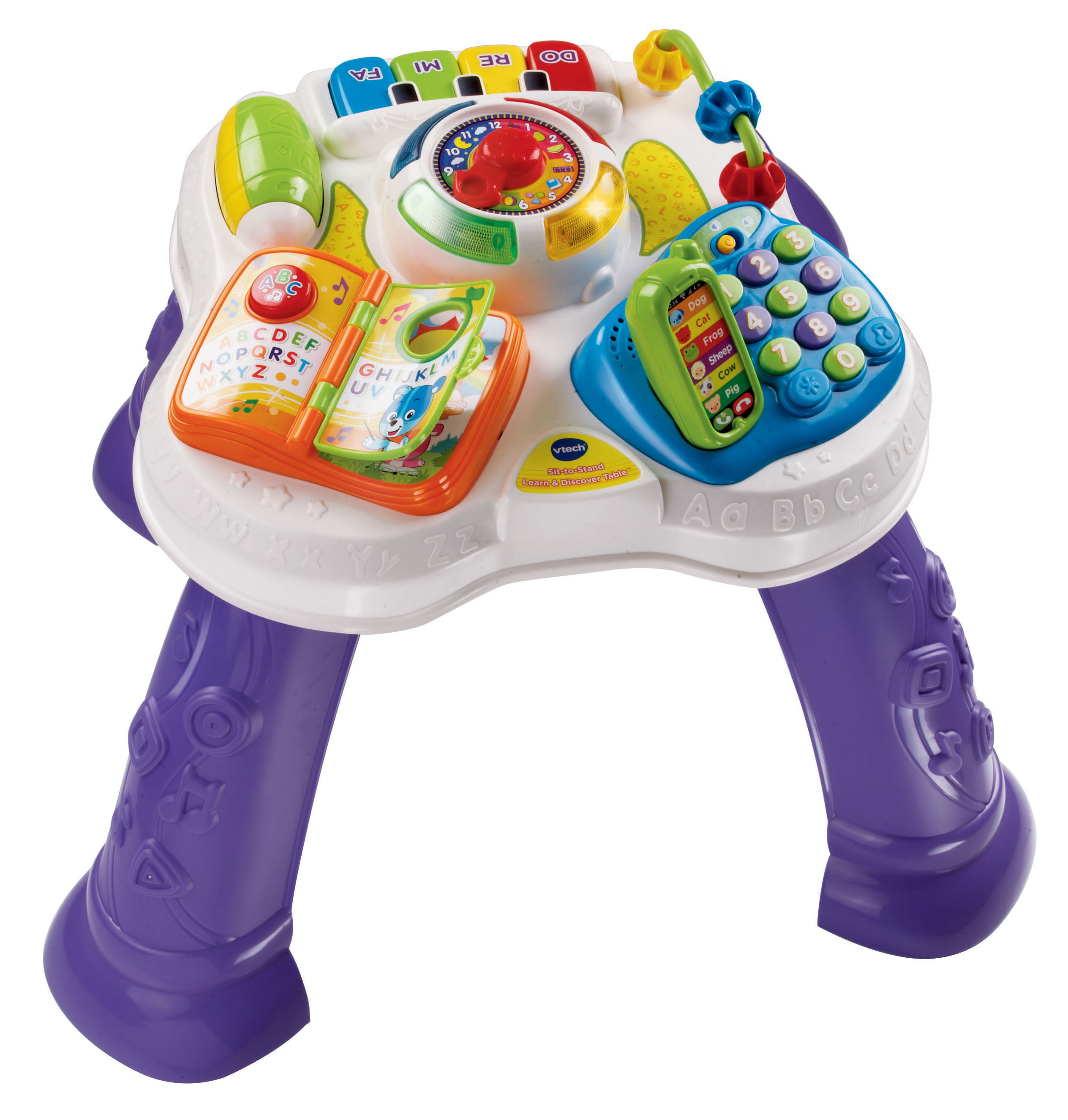 VTech Sit to Stand Learn & Discover Table Walmart