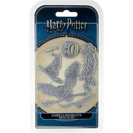 Character World Die WB Harry Potter Embellishments