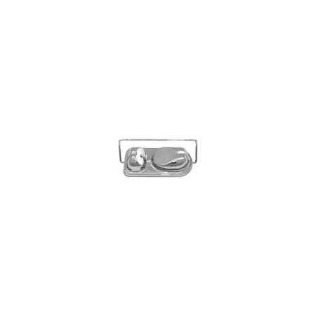 MACs Auto Parts  44-42731 Ford Mustang Master Cylinder Filler Cap - Chrome - For DiscBrakes Brake Master Cylinder Car