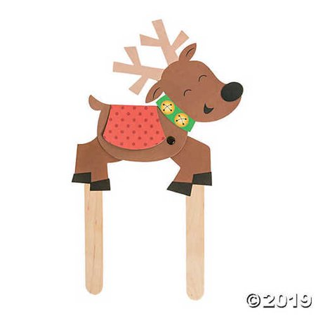 - Flying Reindeer Puppet Craft Kit