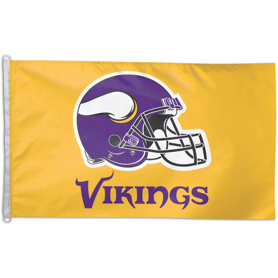 NFL Minnesota Vikings Team Flag, 3' x 5'