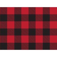 "1 Unit Buffalo Plaid Christmas 24""x85' Roll Gift Wrap Unit pack 1"