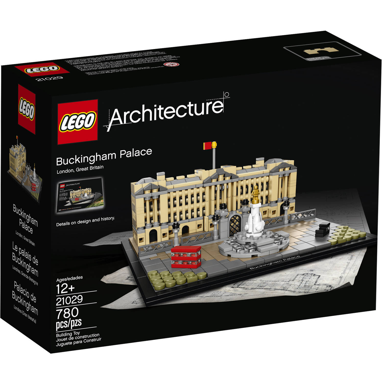 lego architecture united states capitol building 21030 - walmart