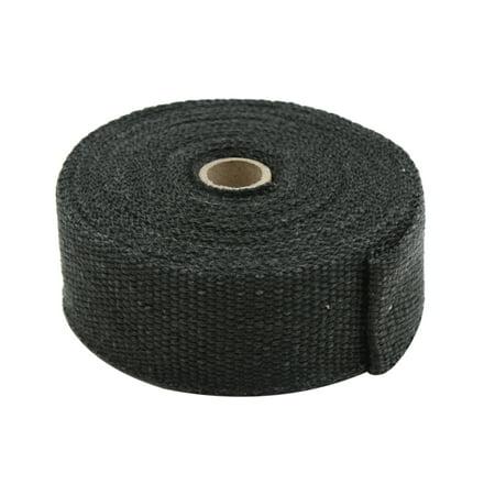 7 5m Black Fiberglass Exhaust Heat Insulating Wrap Sealing