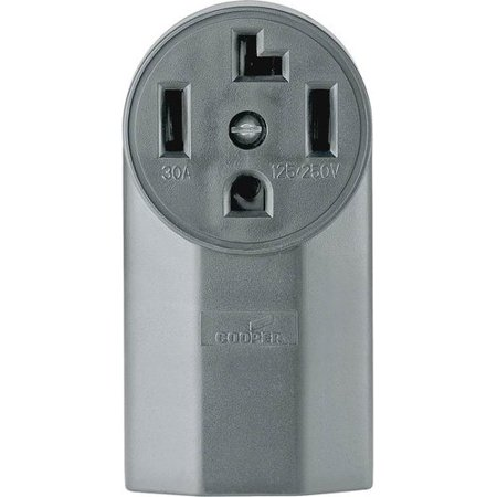 Eaton Cooper Wiring 30A 4 Wire Surf Grounding Power Receptacle (Set of (Wall Receptacle Wiring)