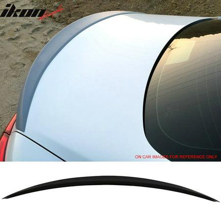 Fits 14-18 Infiniti Q50 Sedan Trunk Aero Spoiler OEM Painted #KH3 Black Obsidian