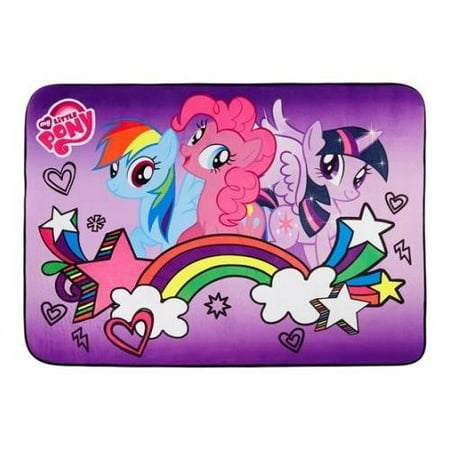 Pony Turnout Rugs (My Little Pony Heat Transfer Accent Rug, 3'4