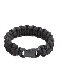 Rothco Solid Color Paracord Bracelet - Black f8f48fd900c