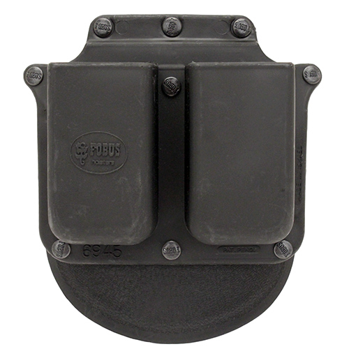 Fobus Double Mag Pouch-Paddle-RH,Glock SKU: 6945GNDP with Elite Tactical Cloth by Fobus