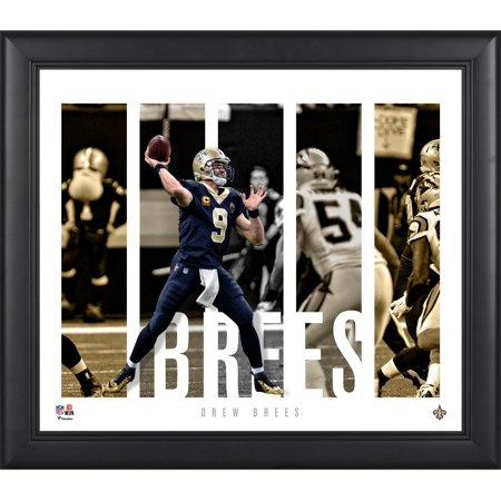 Drew Brees New Orleans Saints Framed 15