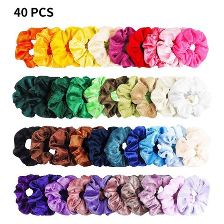 Fleece Hair Ring Multi-Color Optional Gold Velvet Hair Ring Hair Accessories Professional Fashion Portable - image 1 of 10