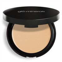 Glominerals Glopressed Base Powder Foundation, Honey Light, 0.35 Oz