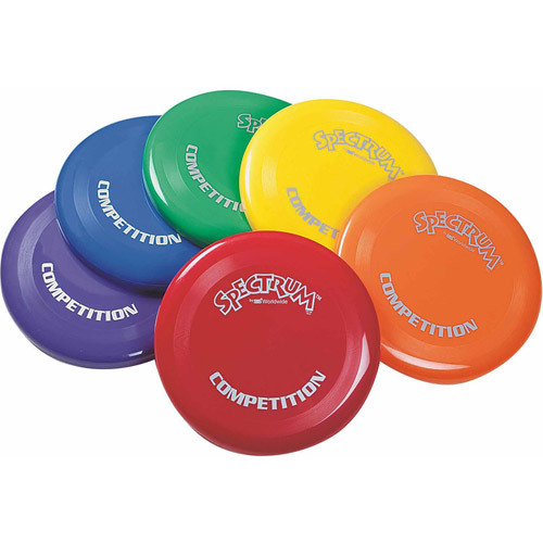 "Spectrum Competition Flying Disc, 10"", Set of 6"