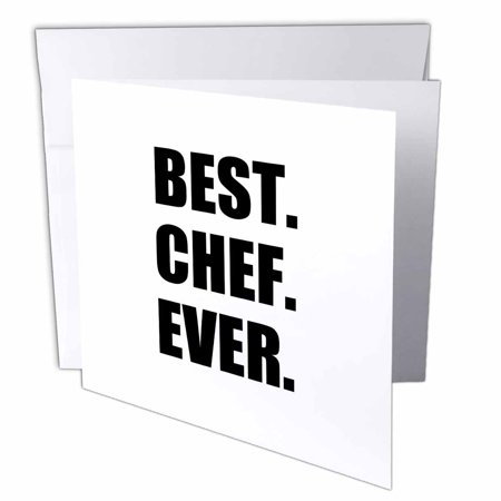 Greatest Halloween Card Ever (3dRose Best Chef Ever - text gifts for world greatest cook and cooking fans, Greeting Cards, 6 x 6 inches, set of)
