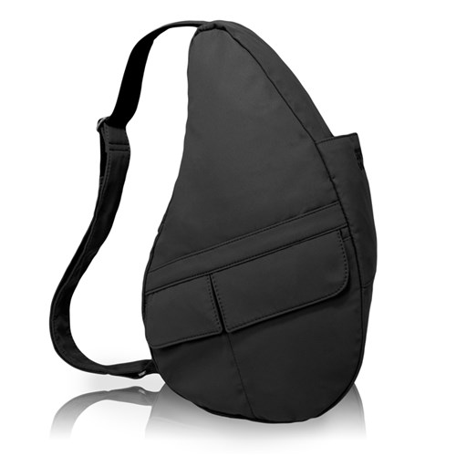 AmeriBag Medium Microfiber Healthy Back Bag - Black Medium Microfiber Healthy Back Bag