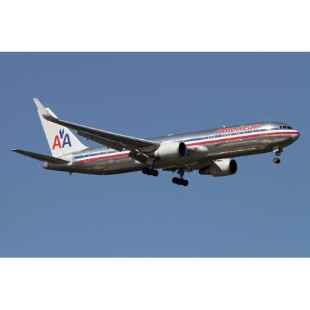 Boeing 767 of American Airlines Print Wall Art (American Airlines 767)