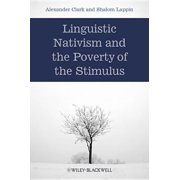 Linguistic Nativism and the Poverty of the Stimulus - eBook