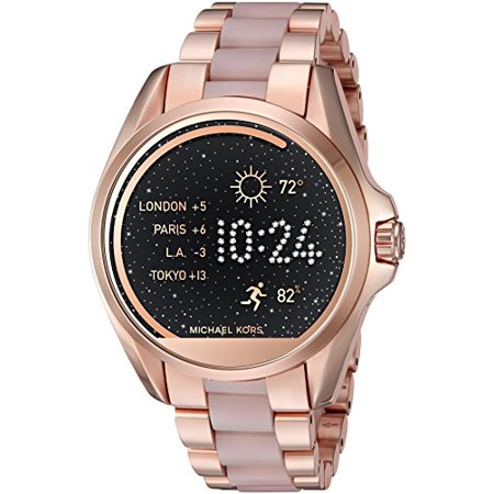b88f27d7383d Fossil - Access Touch Screen Rose Gold Acetate Bradshaw Smartwatch ...
