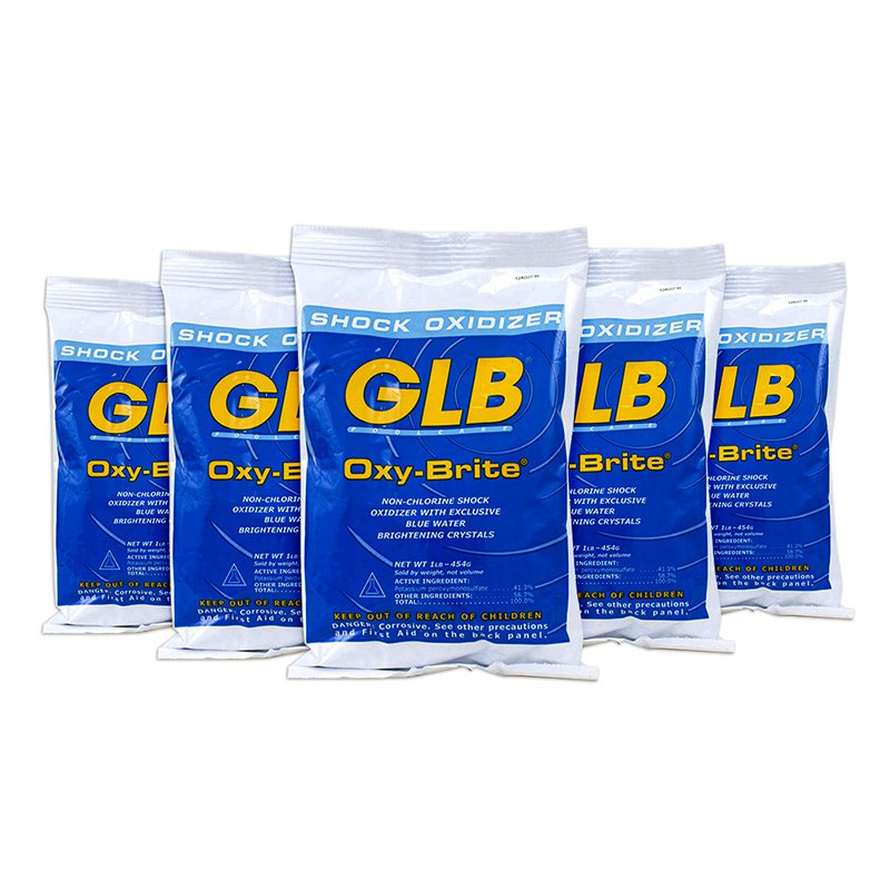 GLB Oxy-Brite 1-Pound Non-Chlorine Shock Oxidizer