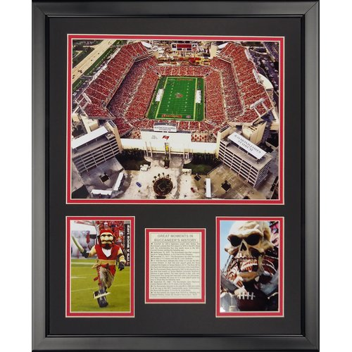 Legends Never Die NFL Tampa Bay Bucaneers - Raymond James Stdm Framed Memorabili