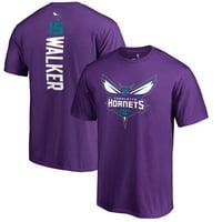Kemba Walker Charlotte Hornets Fanatics Branded Backer Big & Tall T-Shirt - Purple