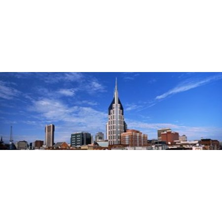 Buildings in a city BellSouth Building Nashville Tennessee USA 2013 Canvas Art - Panoramic Images (18 x 7)](Party City In Nashville Tennessee)