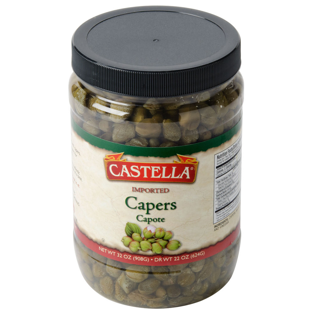 Capers Capotes Imported, 2lb by