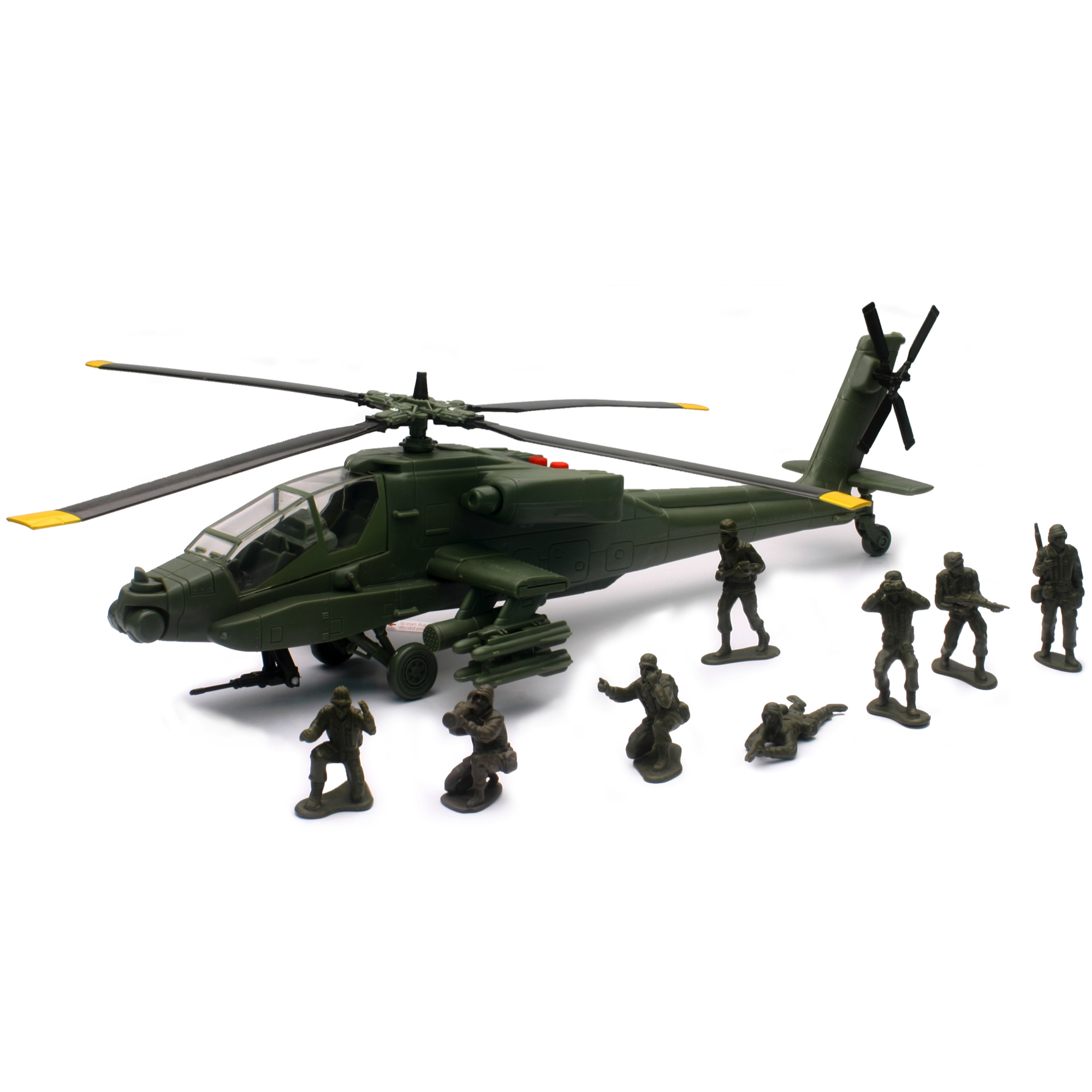 New-Ray Military Mission AH-64 Apache Toy Helicopter by New-Ray Toys Company Limited