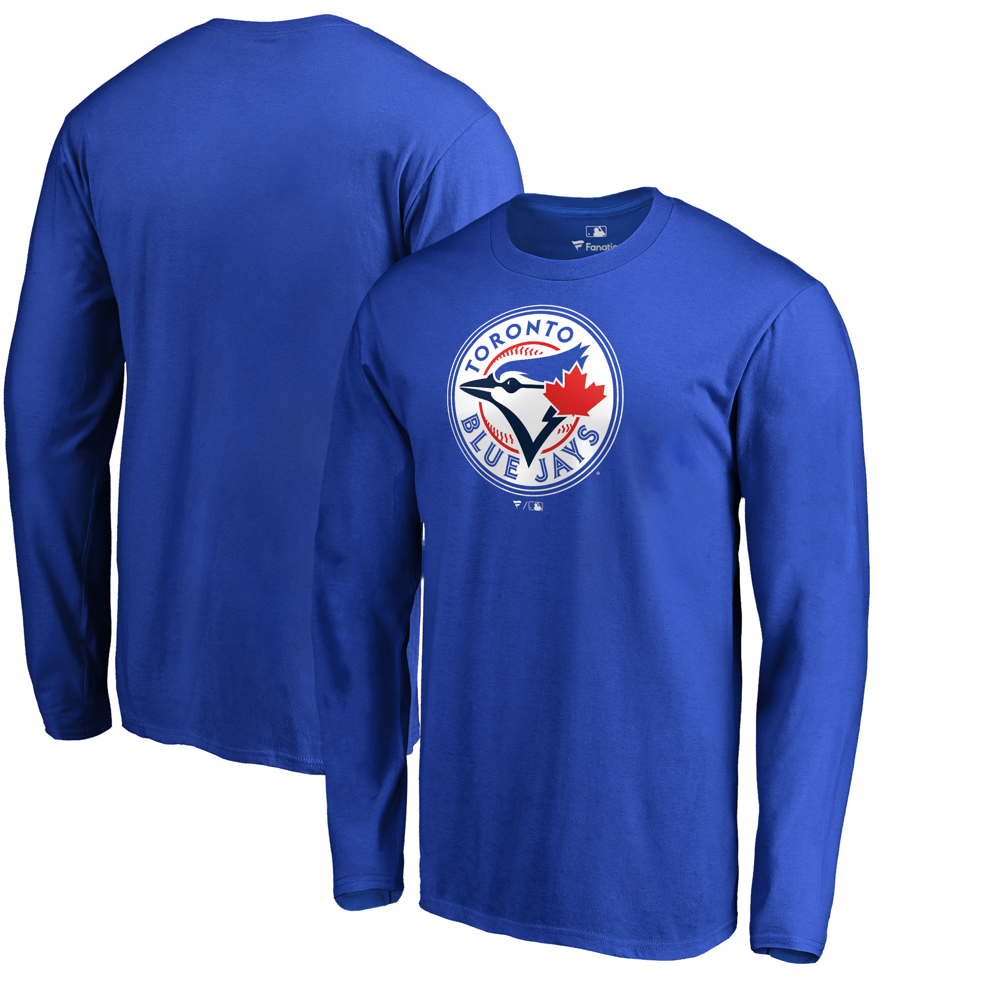Toronto Blue Jays Fanatics Branded Team Wordmark Long Sleeve T-Shirt - Royal