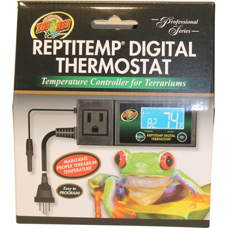 Zoo Med Laboratories Inc-Reptitemp Digital Thermostat- (Best Zoo Med Thermostats)