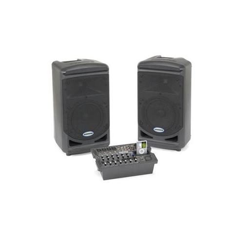 Samson Expedition XP308i - Speakers - with Apple cradle - for PA system - 300 Watt (total)
