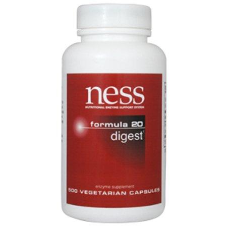 Ness Enzymes, Digest # 20 500 vegcaps