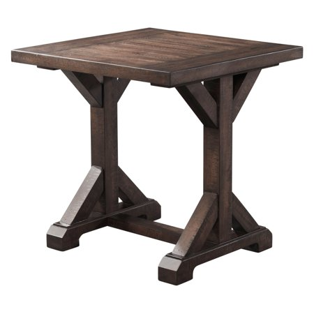 Picket House Furnishings Flynn Trestle End Table