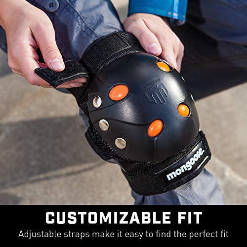 Bike Gel Knee Elbow Pad Set Multi-Sport Protective Gear Biking Scooting Skating