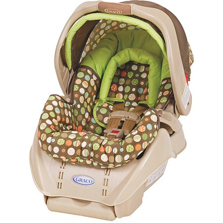 graco snugride infant car seat lively dots. Black Bedroom Furniture Sets. Home Design Ideas
