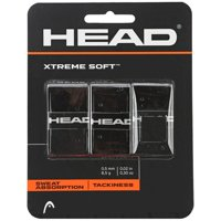 Head XtremeSoft Overgrip 3 pack - for Tennis, Badminton, Squash - Choice of 5 colors