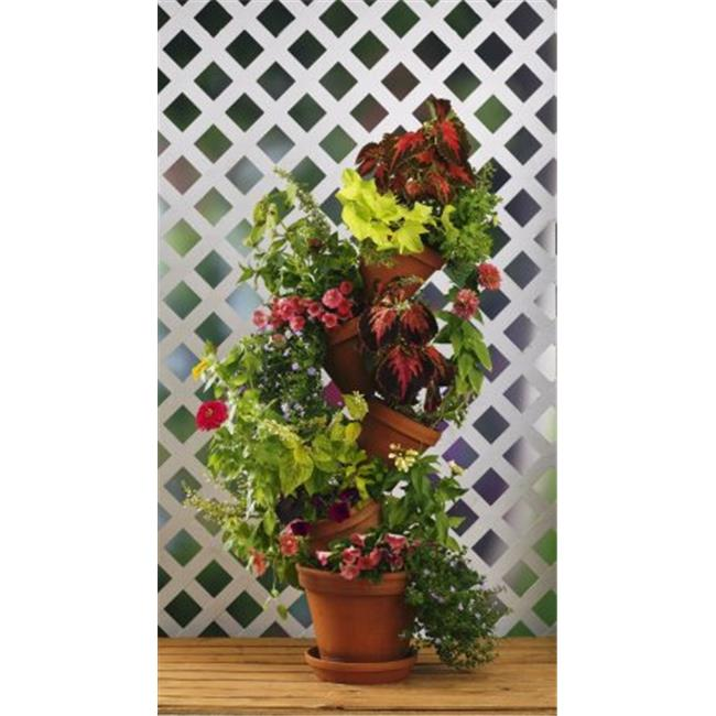 225 & Flip Flop Flower Pot 301W Stackable Plant Stand