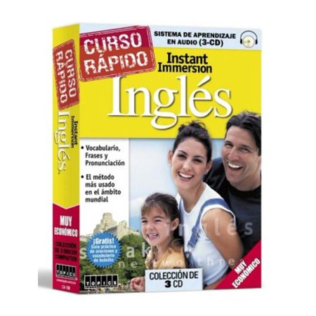 Instant Immersion Crash Course Ingles  3 Audio Cds