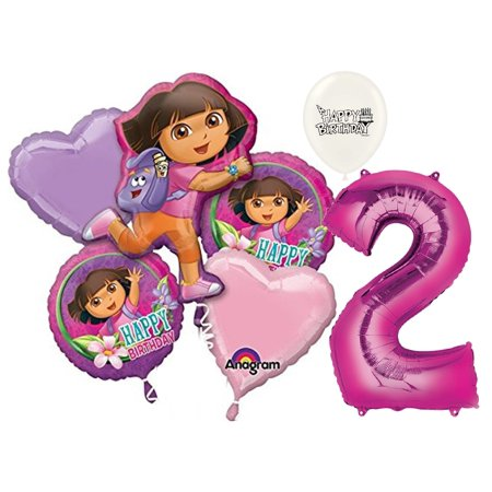Dora The Explorer Birthday Decorations (2nd Birthday Dora the Explorer Balloon)